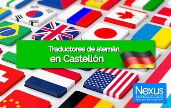 Traducción de alemán en Castellón