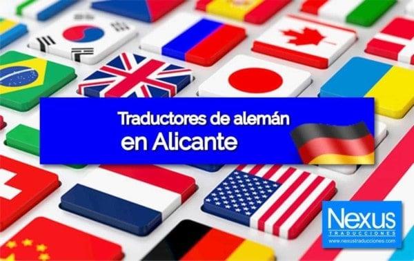 Traducción de alemán en Alicante