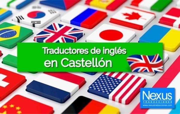 Traducción de inglés en Castellón