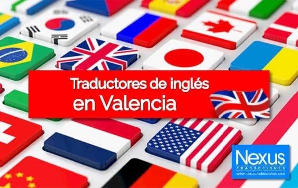 Traducción de inglés en Valencia