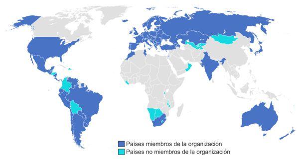 Países miembro de la apostilla de la Haya