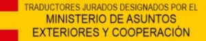 traductor jurado oficial del ministerio de asuntos exteriores español